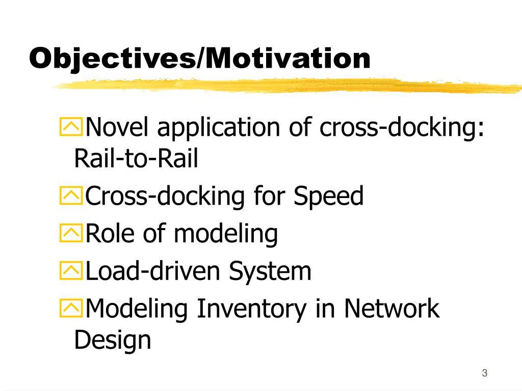 Objectives/Motivation