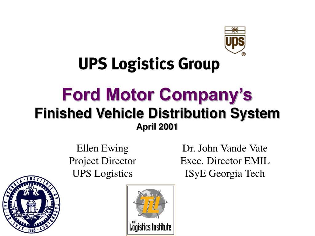 Ford Motor Company's