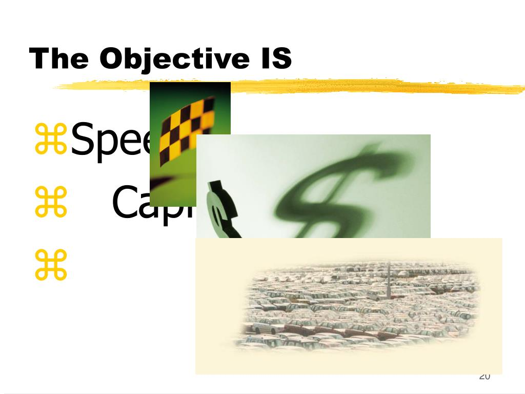 The Objective IS