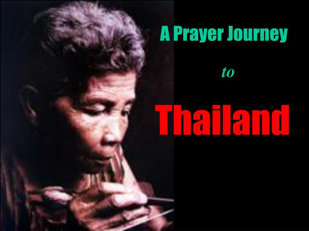 A Prayer Journey