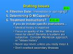 drafting issues11