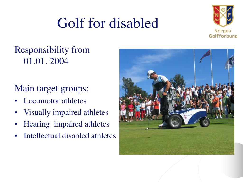 Golf for disabled