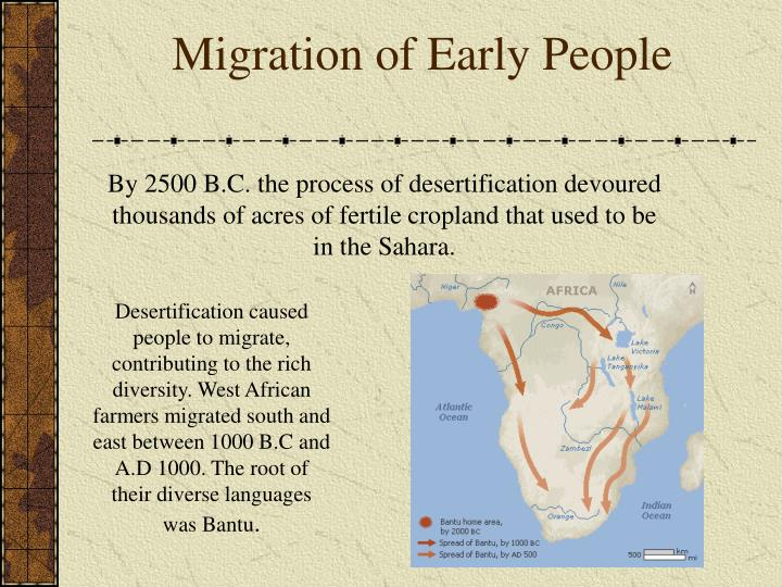 Migration of early people l.jpg