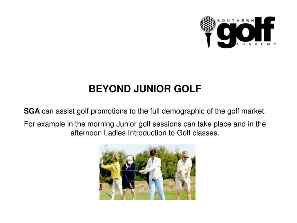 BEYOND JUNIOR GOLF