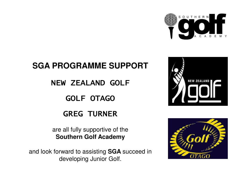 SGA PROGRAMME SUPPORT
