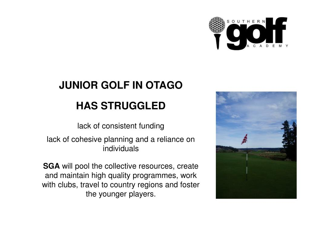JUNIOR GOLF IN OTAGO