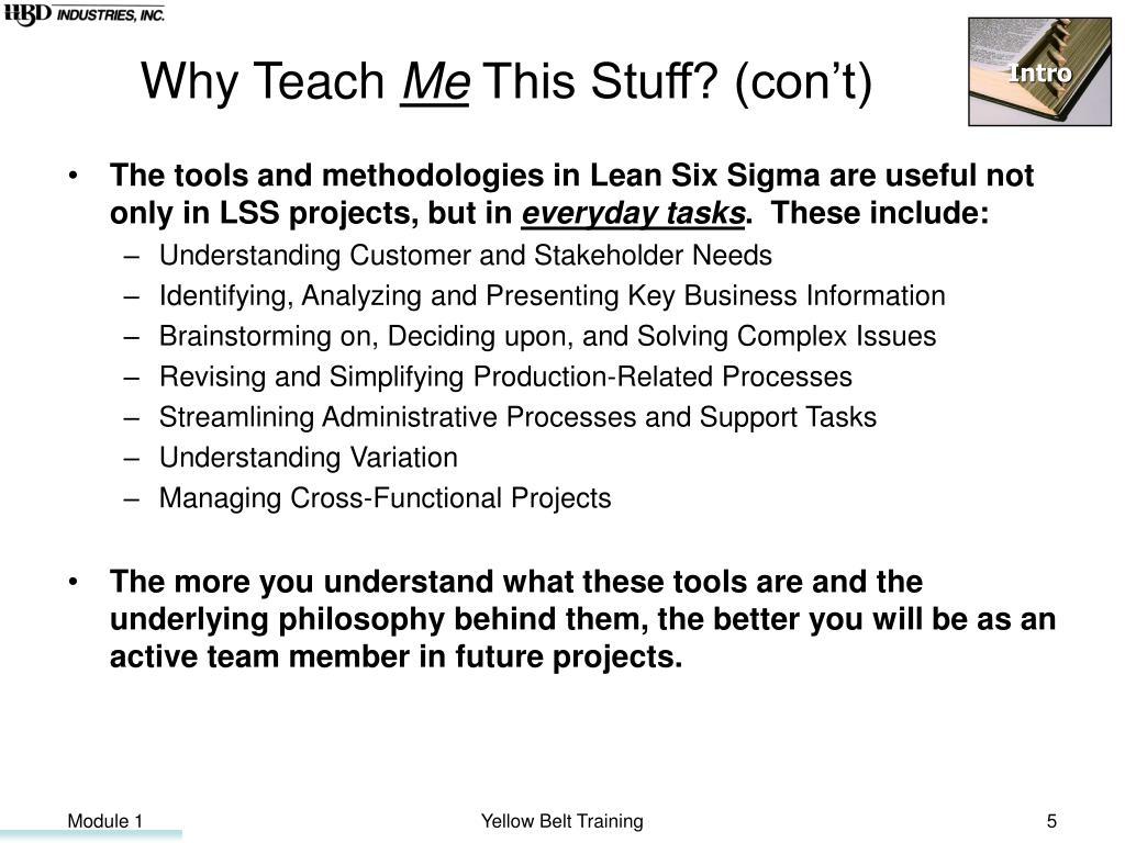 Why Teach