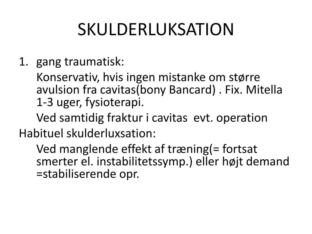 SKULDERLUKSATION