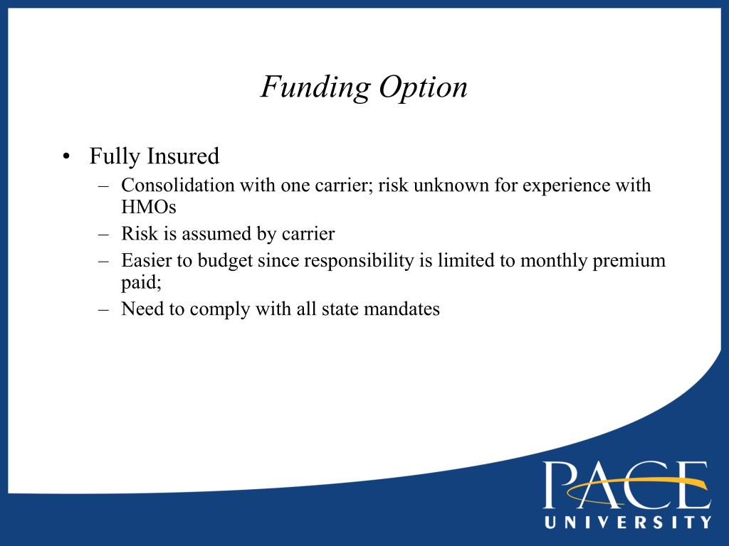 Funding Option