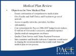 medical plan review