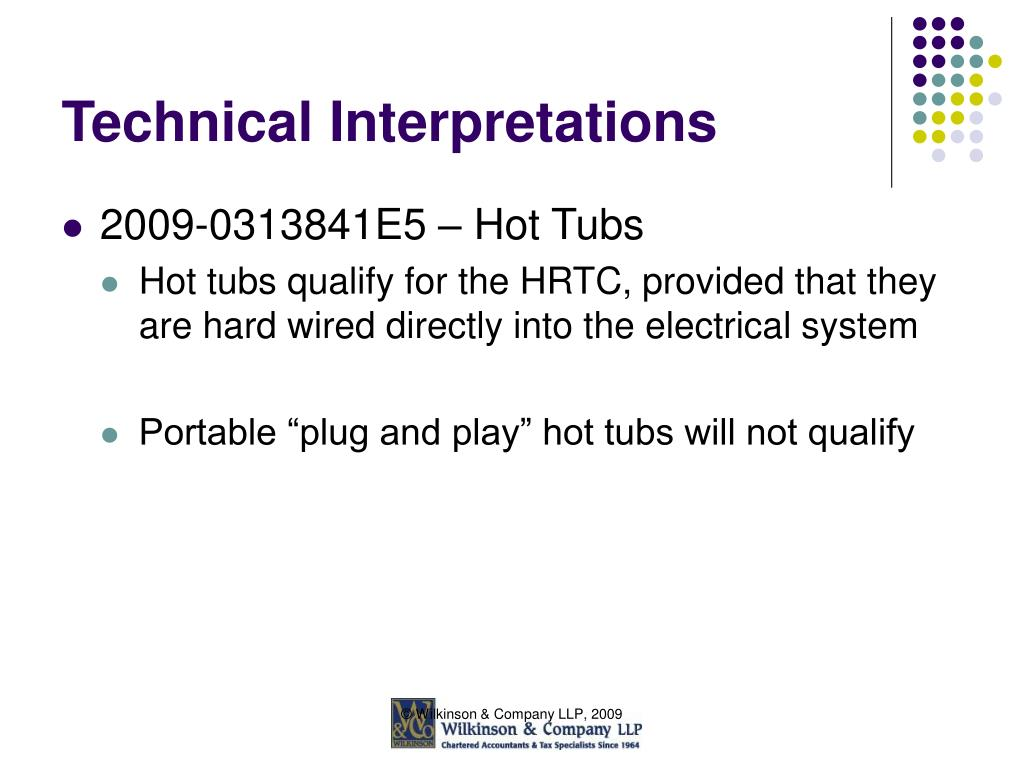 Technical Interpretations