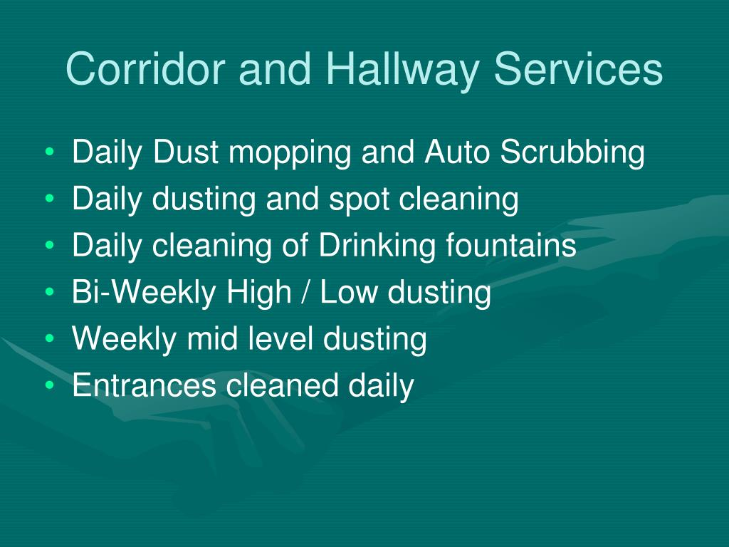 Corridor and Hallway Services