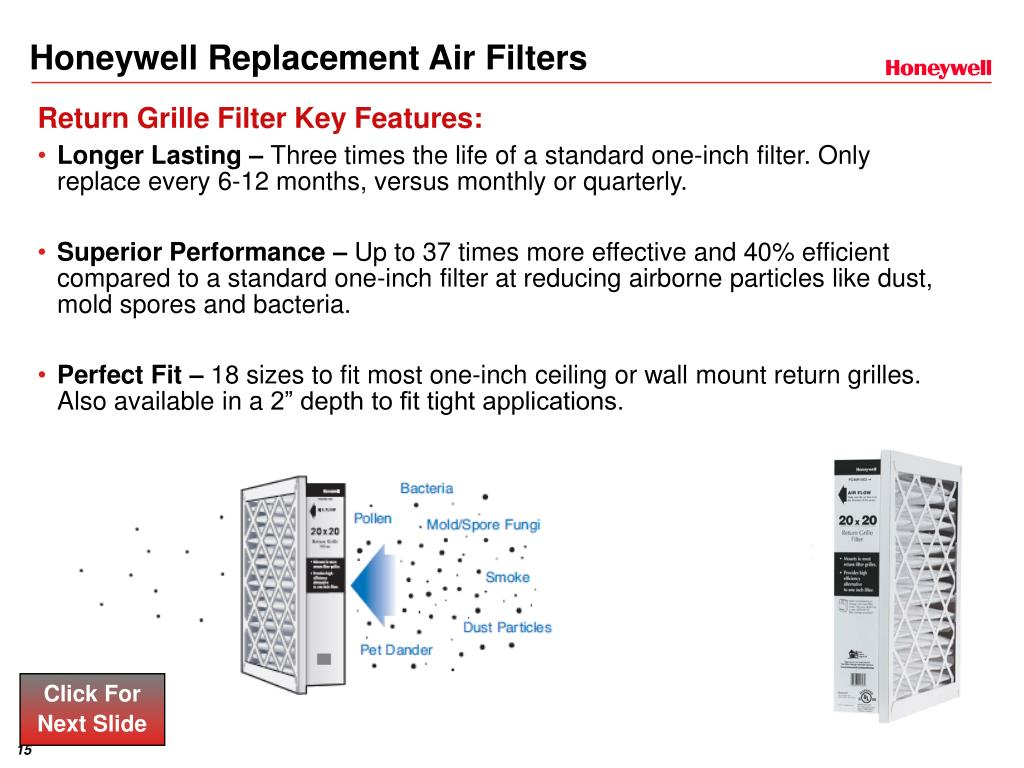 Honeywell Replacement Air Filters