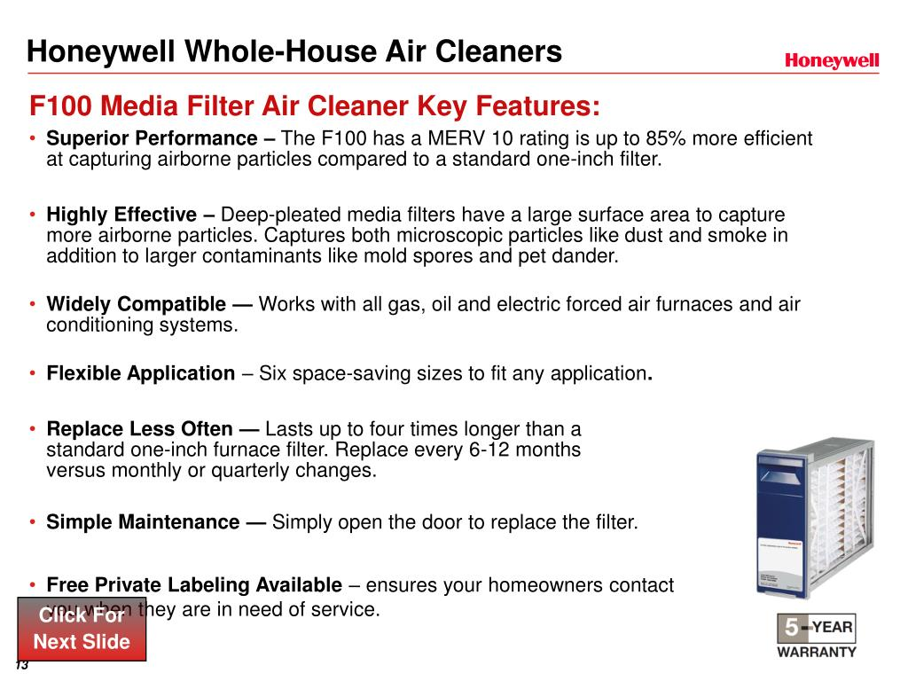 Honeywell Whole-House Air Cleaners