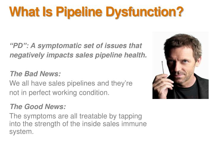 What is pipeline dysfunction3