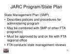 jarc program state plan