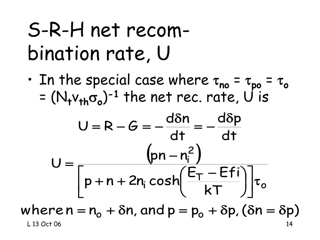 S-R-H net recom-