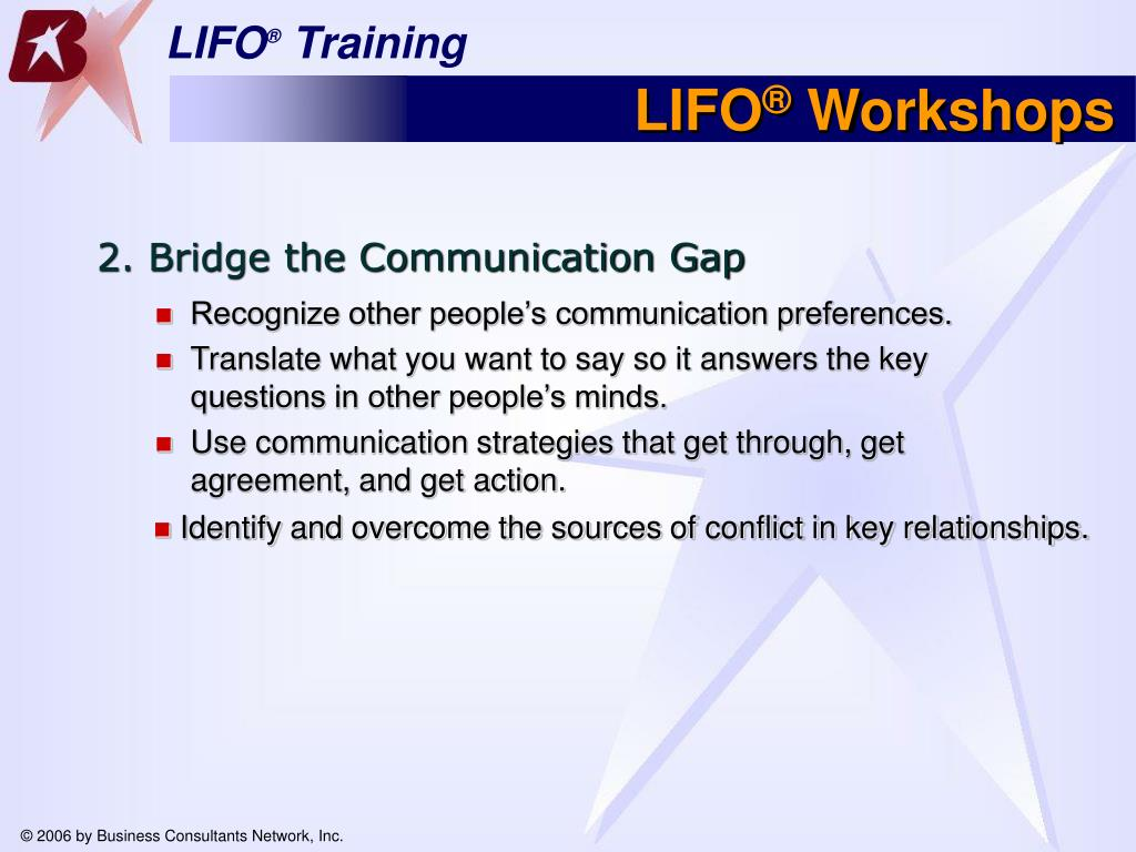 Recognize other people's communication preferences.