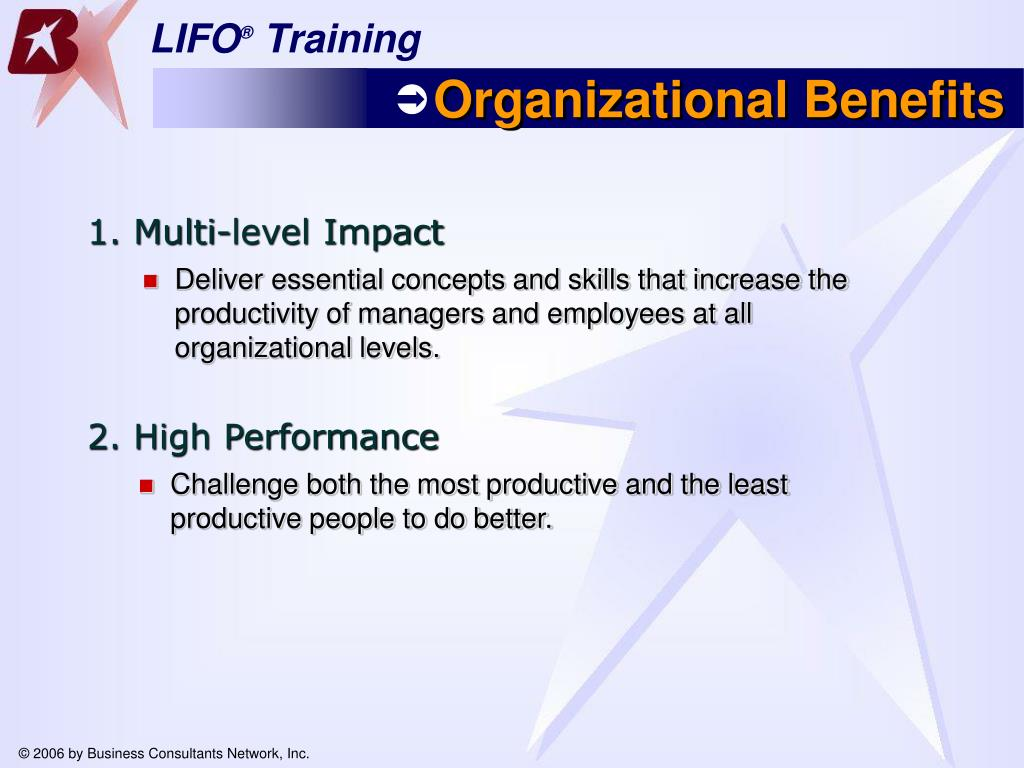 Deliver essential concepts and skills that increase the productivity of managers and employees at all organizational levels.