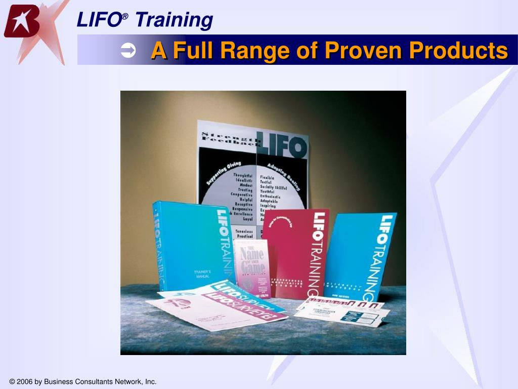A Full Range of Proven Products