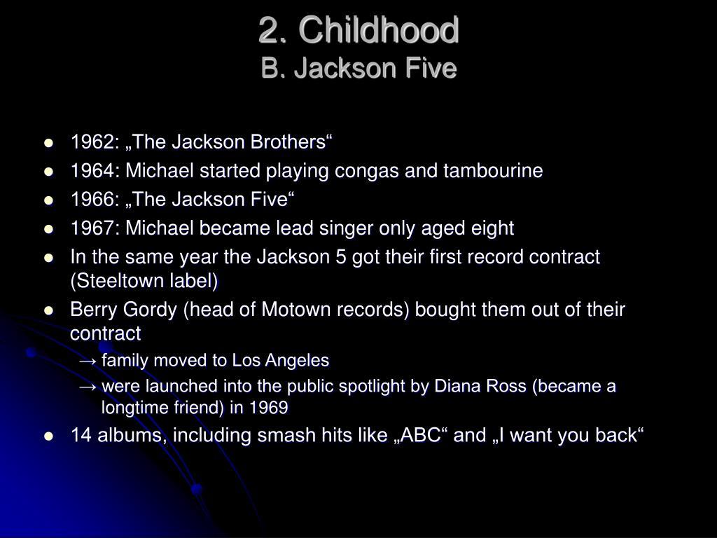 2. Childhood