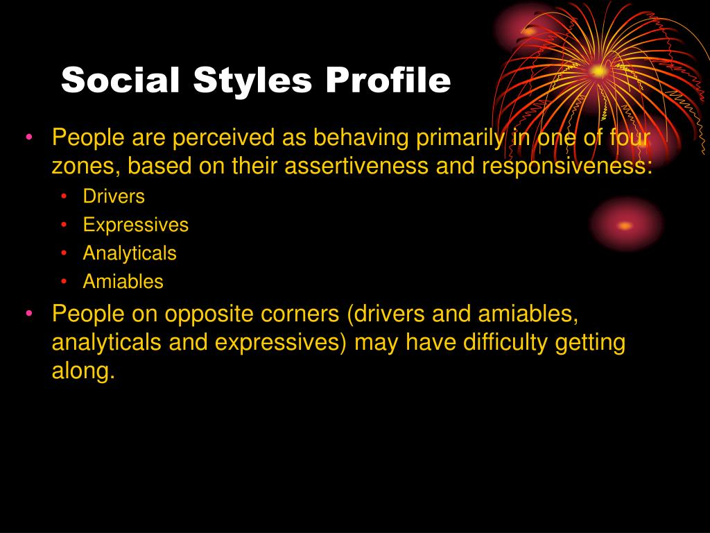 Social Styles Profile