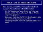 petrus und die katholische kirche67