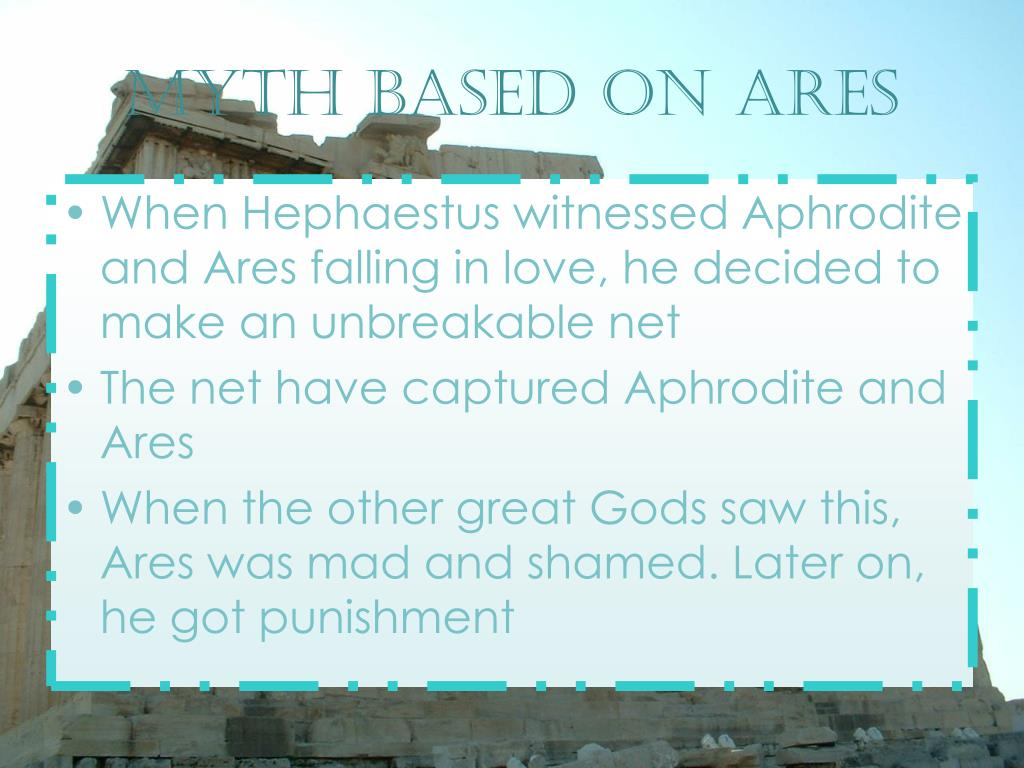 Myth based on ares