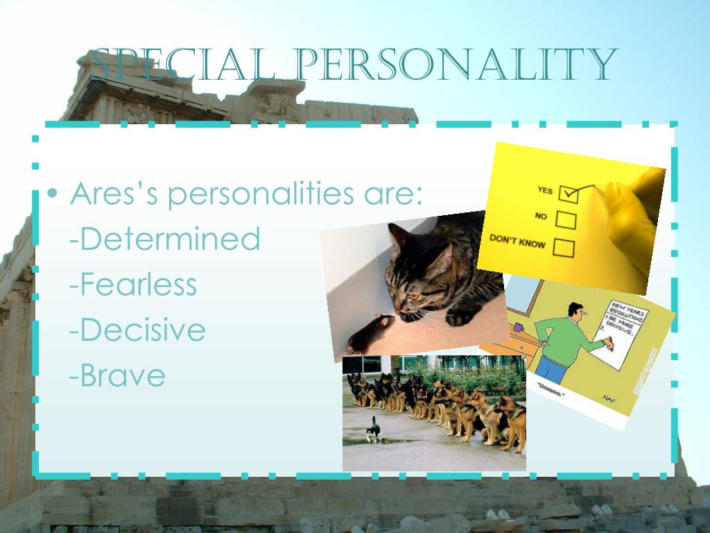 Special personality