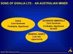 sons of gwalia ltd an australian miner