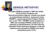 geneza metodyki