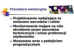 procedura ewolucyjna