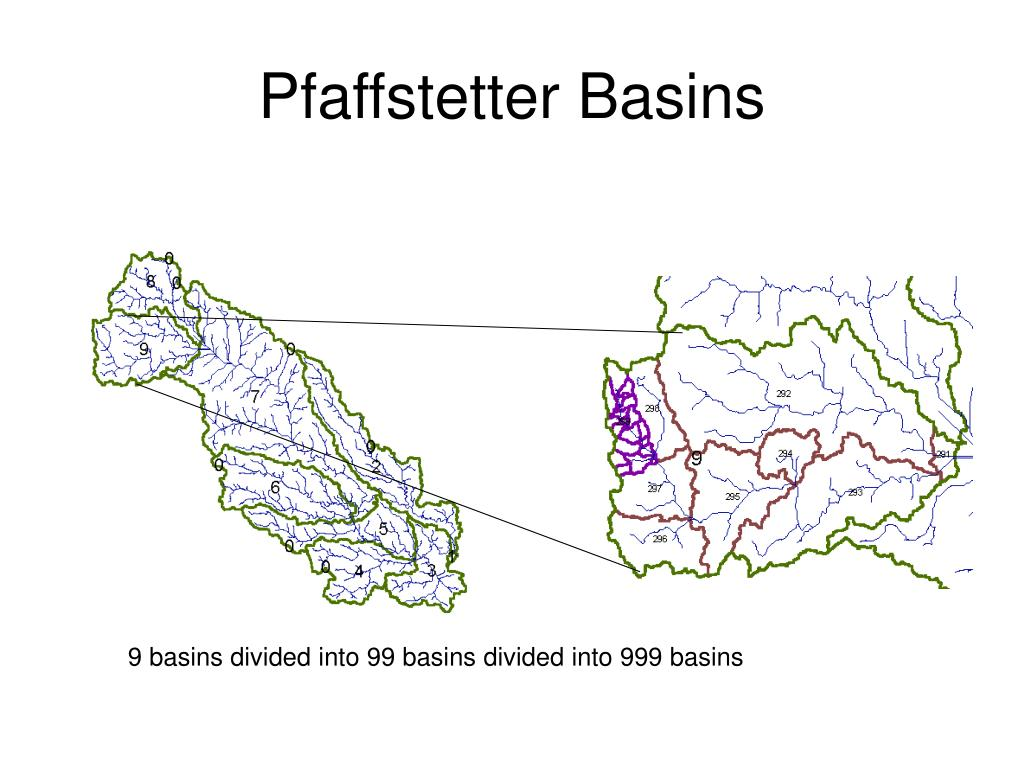 Pfaffstetter Basins