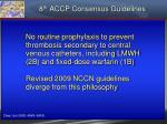 8 th accp consensus guidelines