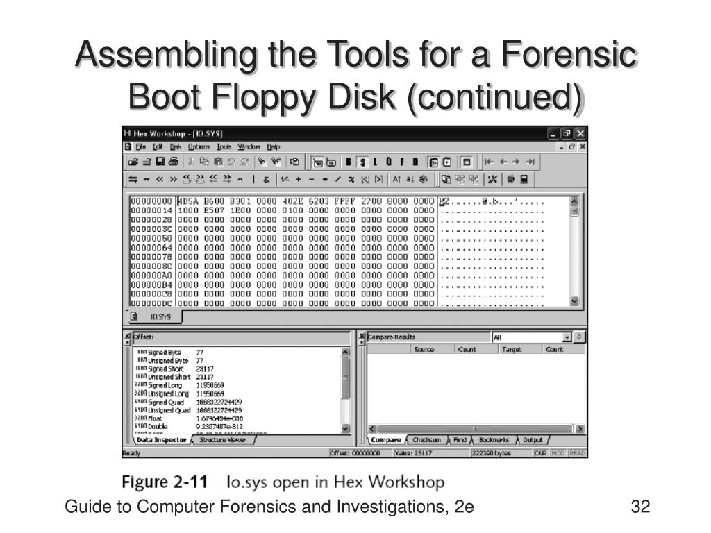 Assembling the Tools for a Forensic Boot Floppy Disk (continued)