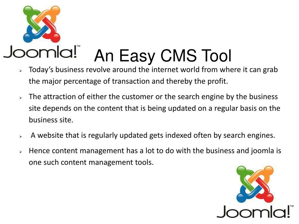 An Easy CMS Tool