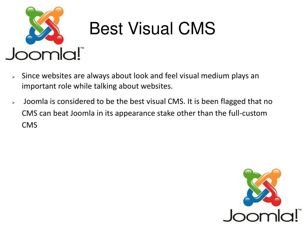 Best Visual CMS