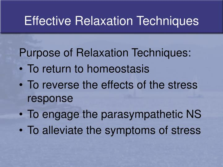 Effective relaxation techniques l.jpg