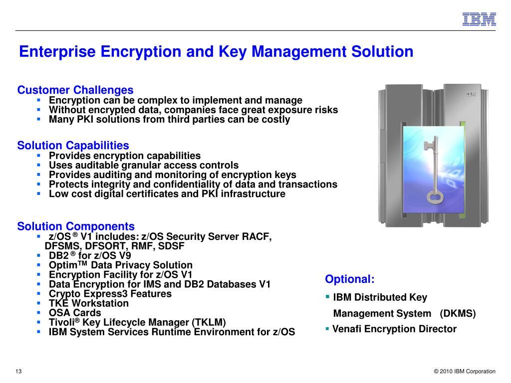 Enterprise Encryption and Key Management Solution