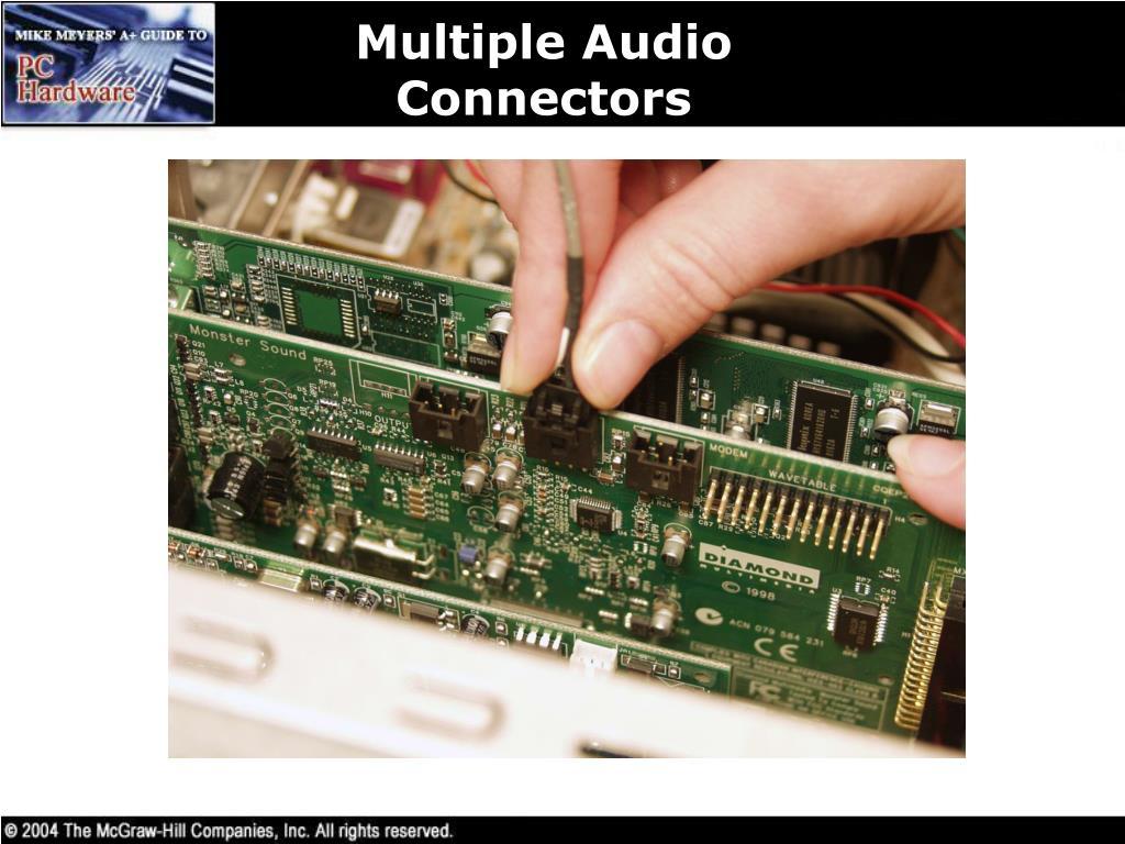 Multiple Audio Connectors