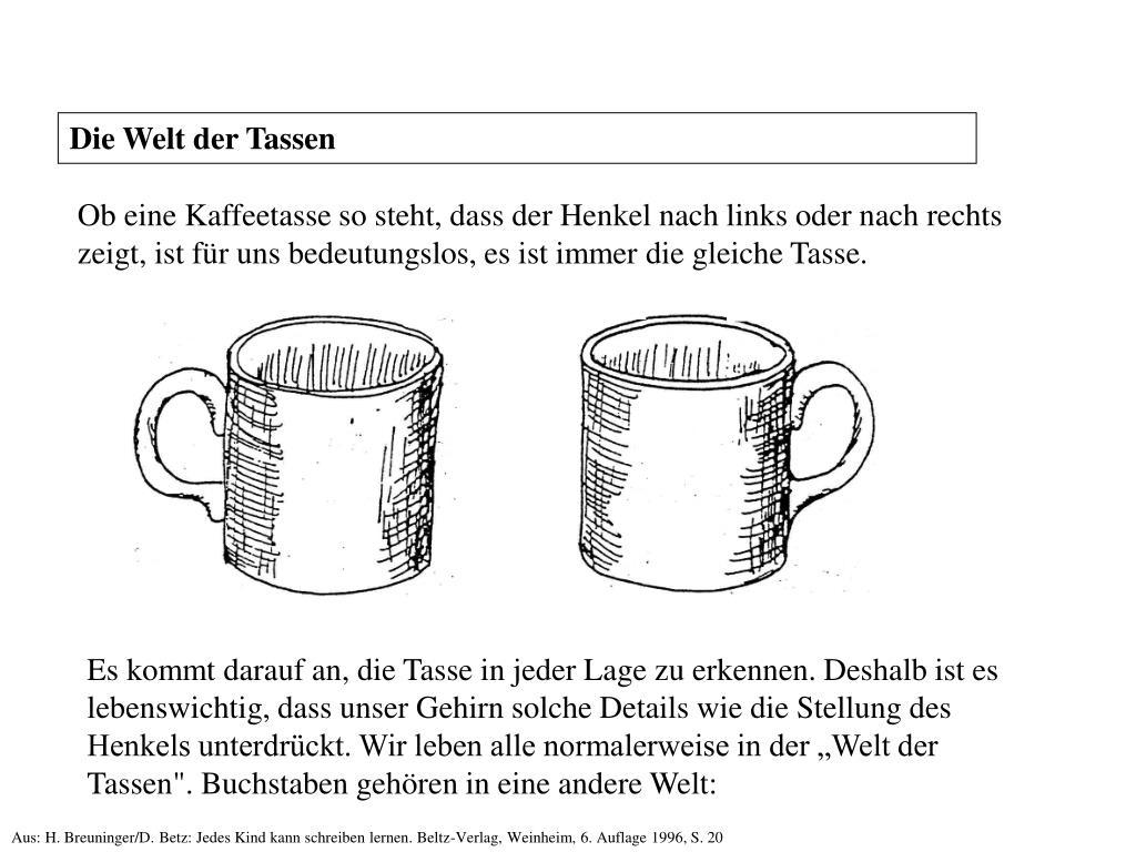 Die Welt der Tassen