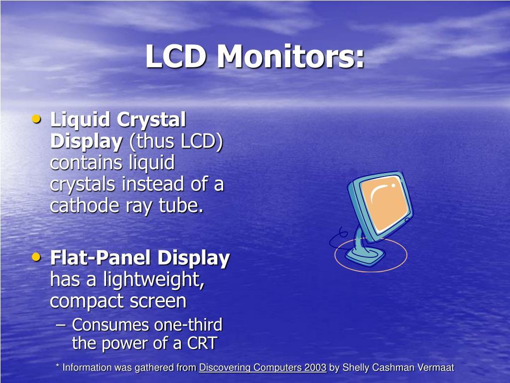 LCD Monitors: