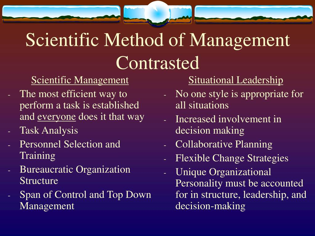 describe and critique on scientific management Free essay: report title: describe and critique the scientific management approach pioneered by frederick taylor content page executive summary 2 who is.