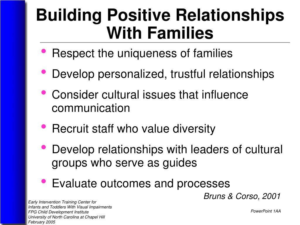 building positive relationships in children essay Explain the principles of relationship building with  sense of humour is a useful tool in building positive relationships with adults  no plagiarism essay.