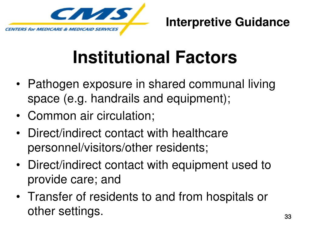 Institutional Factors