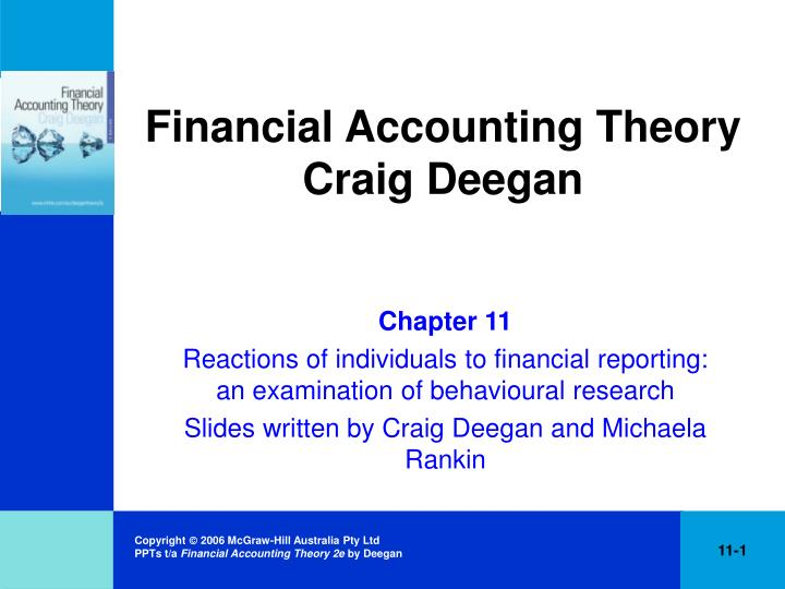 financial accounting theory ch partial solutions