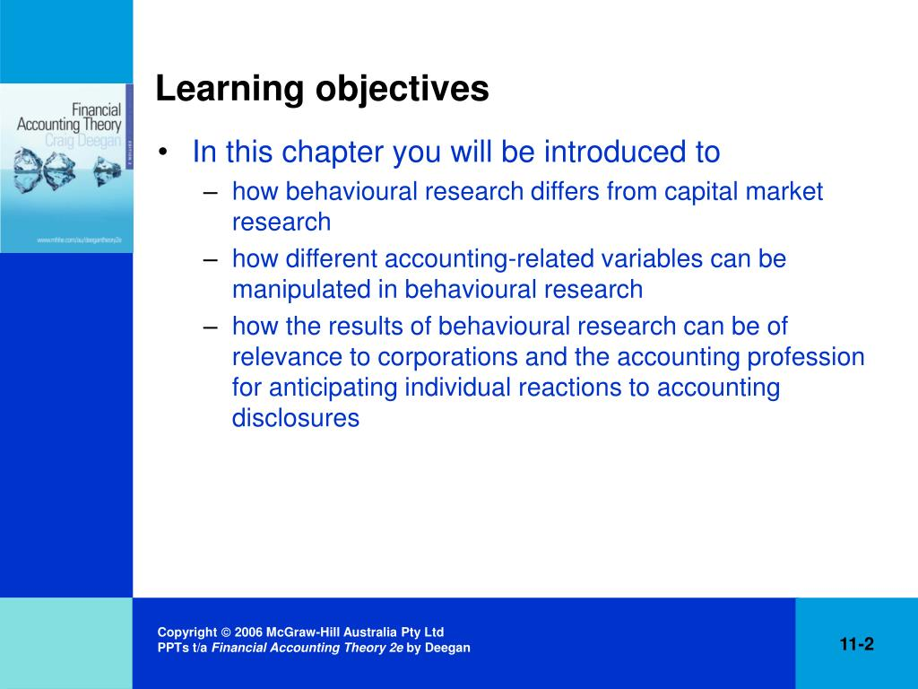introduction and learning objectives of accounting 3 3 chapter introduction to healthcare 1 financial management learning objectives after studying this chapter, readers should be able to • explain the difference between accounting and.