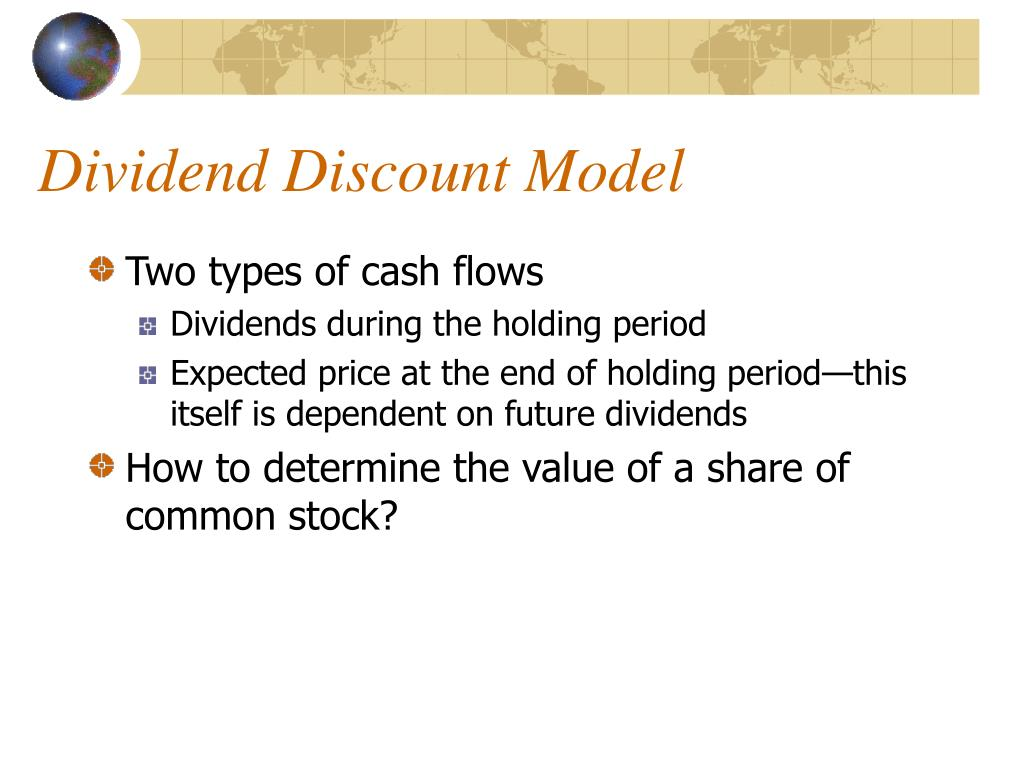 two stage dividend discount model