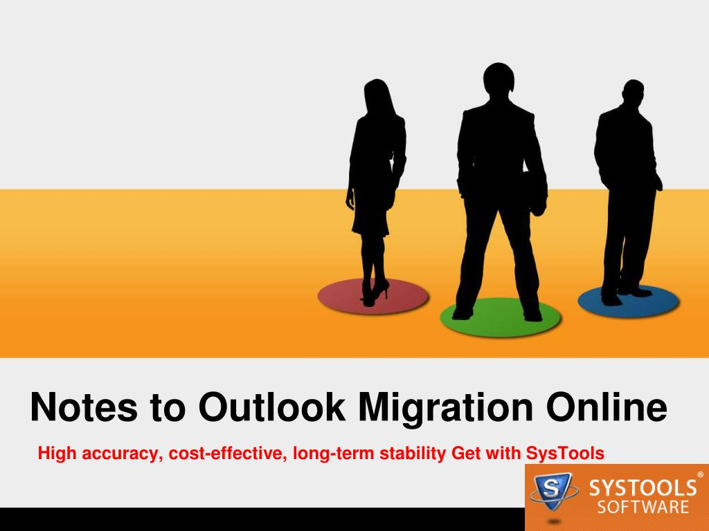 Notes to Outlook Migration Online