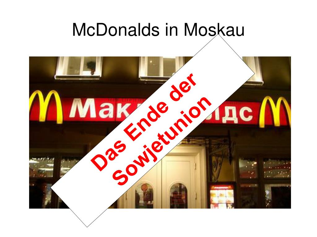 McDonalds in Moskau